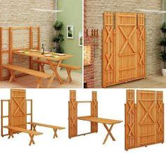 DIY - Fold up picnic table