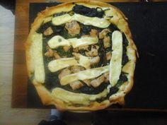 Plaatpizza met spinazie en brie | | Goed en gezond eten