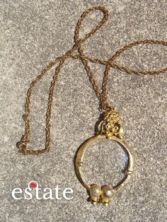 monoclonal necklace #vintage