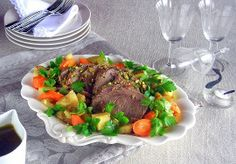 Pistachio Crusted Roast, with Carrots and Potatoes – Lesson 7: One Pot Meal Pressure Cooker Pot Roast | hip pressure cooking 35min