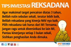 TIPS INVESTASI REKSADANA   #Kunjungi www.ipotfund.com
