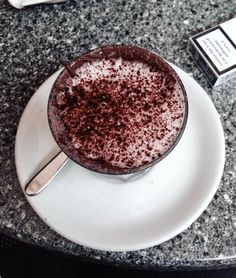 #coffee #caffè #cioccolata #dessert #dersut