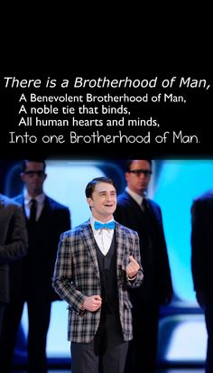 Brotherhood of Man (How to Succeed in Business Without Really Trying)