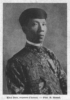 Emperor of Annam Khai Dihn