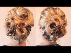 Курсы причёсок - 2 занятие - Букли - Hairstyles by REM - YouTube