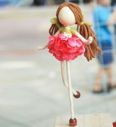 Flower Petal Fairy Waldorf Doll | Waldorf Dolls, Fairies and Dolls