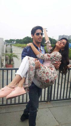 Katrina Kaif with Siddarth Malhotra