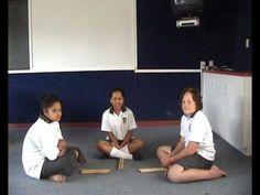 Raukau Sticks - Maori Stick Game - YouTube