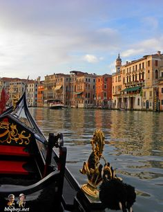 Gondola in Venice. Lots of photos and on why you shouldn't propose on a gondola: http://bbqboy.net/highlights-of-a-trip-to-venice-italy-and-why-proposing-on-a-gondola-is-not-a-good-idea/ #venice #italy