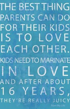 Great quote about marriage and parenting.
