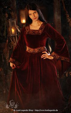 Mittelalter Kleid Queen Anna