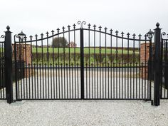 Steel Gates & Railings, manufactured and installed by Swan Gates Yorkshire