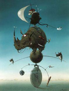 Optically Addicted: littlelimpstiff14u2: Hans Kanters Surrealist...