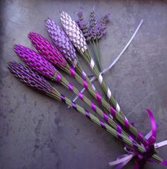 Lavender Filled Wands Gift Set Of Five Large Batons Fragrant Floral Purples Appreciation Gifts Lavender Wands, Lavender Crafts, Dried Lavender Flowers, Lavender Blue, Homemade Crafts, Diy Crafts To Sell, Lavender Aesthetic, Appreciation Gifts, Shades Of Purple