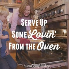 We can make our homes a haven by creating warm, inviting smells of deliciousness in in the kitchen. Here's how to serve up some lovin' from the oven. Christian Wife, Christian Marriage, Christian Parenting, Biblical Marriage, Good Marriage, Virtuous Woman, Godly Woman, Lovin Oven, Prayer For You