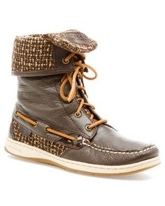 Sperry Top-Sider Women's 'Ladyfish' Leather Boot