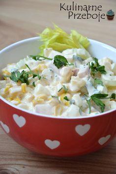 Sałatka brazylijska z jajkami - HIT na imprezy i przyjęcia! Polish Recipes, Polish Food, Potato Salad, Salad Recipes, Grilling, Avocado, Salads, Bbq, Food And Drink