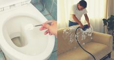 Bicarbonatul de sodiu, regele curățeniei – 22 moduri de a-l folosi în gospodărie Bathtub, Bathroom, Faucet, Ideas, Standing Bath, Washroom, Bath Tub, Bathrooms, Bathtubs