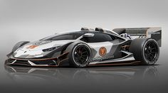 Lamborghini Huracán als Formel-1-Auto-Rendering von Jon Olsson