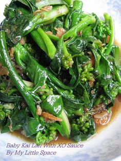Did you notice that we have all kinds of imported green vegetables from China at our local market place recently? And the price is quite re. Easy Asian Recipes, Mexican Food Recipes, Vegetarian Recipes, Cooking Recipes, Healthy Recipes, Chinese Recipes, Dinner Recipes, Vegetable Dishes, Vegetable Recipes