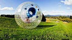 Inflatable rolling zorb ball, PVC inflatable transparent zorb ball