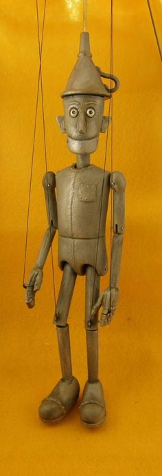 Tin Man marionette limited edition by AMCreatures on Etsy https://www.etsy.com/ca/listing/28800206/tin-man-marionette-limited-edition