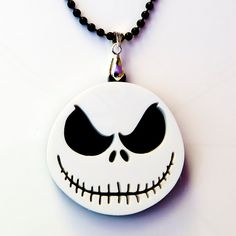The Nightmare Before Christmas Jack Halloween Necklace.