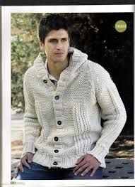 cardigans hombre tejidos - Buscar con Google Sweater Jacket, Men Sweater, Knit Or Crochet, Victorious, Knitting Patterns, Textiles, Mens Fashion, Guys, Jackets