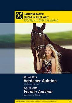 Hannoveraner Verband:Aktuelle Auktion: Verdener Auktion Juli