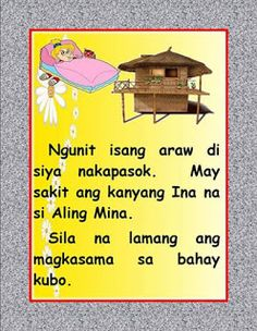 Author: Santos, Nida and Margie Faderagao Disclaimer: If you are the original creator of. Stories With Moral Lessons, Moral Stories For Kids, Short Stories For Kids, Kids Story Books, Story Titles, Visual Aids, Classroom Rules, Tagalog, Myla