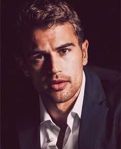 Theo James for Hugo Boss