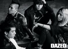 Big Bang for Dazed Magazine, 2010, photographed by Kim Jung-Man #korea #koreanphotography #photography #blackandwhitephotography