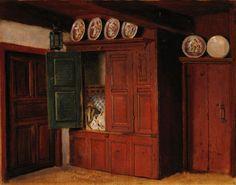 carl ludwig jessen: friesische küche, 1863 | carl ludwig jessen ... - Friesische Küche