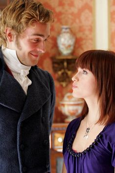 Lost in Austen - Amanda Price and Mr. Bingley
