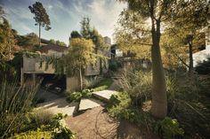 CASA ROMANY   Pacific Palisades, Los Angeles, CA  Arquitecto: Alberto Kalach  Desarrollo: Taller de Arquitectura X - 2004