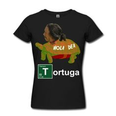 bad turtle, bad, breaking, tortoise, tortuga, meth, cook, chemistry, tweaking, dealer, white, walter, hola dea, drugs, arizona, mexican, mafia, show, funny, shirt Women's T-Shirts, black. This slim-fit lightweight cotton jersey t-shirt is stylish and has a contoured fit is designed to flatter your figure...