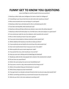 109 Lustige Fragen zum Kennenlernen - feminism/poems/anxiety/mind - Get Questions To Ask People, Questions To Get To Know Someone, Funny Questions, Getting To Know Someone, Interesting Questions To Ask, Questions To Ask Your Boyfriend, This Or That Questions, Funny Icebreaker Questions, Get To Know Me