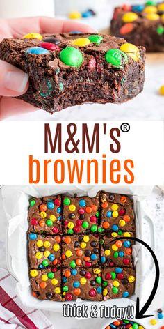 Chocolate Caramel Brownies, Chocolate Morsels, Chocolate Flavors, Chocolate Recipes, Sweets Recipes, Brownie Recipes, Snack Recipes, Easy Recipes, Snacks