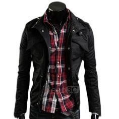 GIACCA GIUBBOTTO UOMO CASUAL SLIM FIT ESTIVA LEGGERA in Abbigliamento e accessori | eBay
