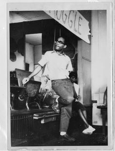Civil Rights Movement Archives | Photograph of Bob Moses Mark Levy Collection
