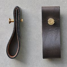 A simple tutorial to make a leather furniture pull from an old belt and some bolts from the hardware store.
