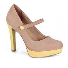 Sapato Feminino Ramarim 12-23206 - Amarelo