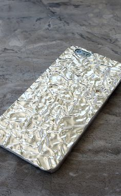 Silver Crystalline Case for iPhone 6/6s and 6 Plus/6s Plus from Elemental Cases