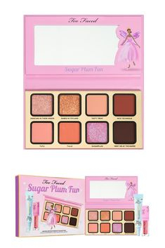 Sugar Plum Fun Plum Makeup, Makeup News, Christmas Makeup, Eyeshadow Palette, Perfume, Sugar, Cosmetics, Bath, Holiday