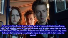 Theory about the Ponds leaving. I know I'm just going to cry my eyes out. #DW