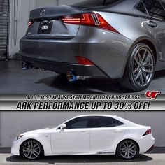 All Lexus Exhaust systems and lowering springs from ARK Performance are on on sale! Contact a Vivid Racing sales specialist today to discuss pricing. Hurry because this sale is ending soon!! 1-866-448-4843 Sales@vividracing.com  #arkperformance #ark #vividracing #lexus #is250 #is350 #gs350 #gripexhaust #lexusboys #lexusis #lexuslove #carswithoutlimits #vip