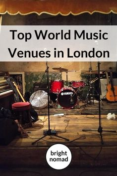 World Music Venues in London: London's world music scene is overflowing with local and international talent. There's music from just about every corner of the world in this massive city.  This post is your guide to finding world music gigs in London.   Whenever I visit London, I spend a lot of my nights going to gigs. So I've compiled a list  of some of  the best venues to find global music.