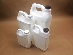 plastic jugs Fluorinated Containers for Products Containing Citrus Oils