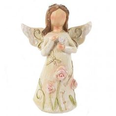 Buy Small Pink Resin Angel Ornament at competitive prices at Something Different Wholesale. Angel Ornaments, Cherubs, Fairies, Resin, Angels, Disney Princess, Disney Characters, Pink, Gifts