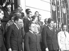 Visita de Getúlio Vargas a Belo Horizonte, em 1937.